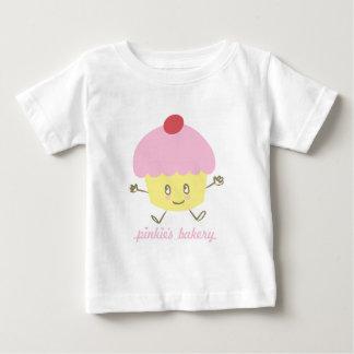 De T-shirt van het Baby van Cupcake van de