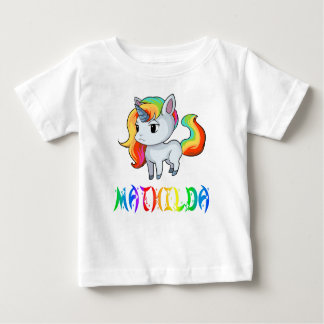 De T-shirt van het Baby van de Eenhoorn van