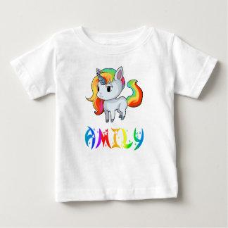 De T-shirt van het Baby van de Eenhoorn van Amily
