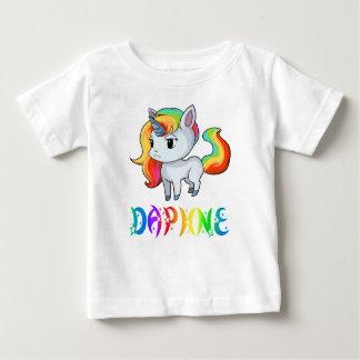 De T-shirt van het Baby van de Eenhoorn van Daphne