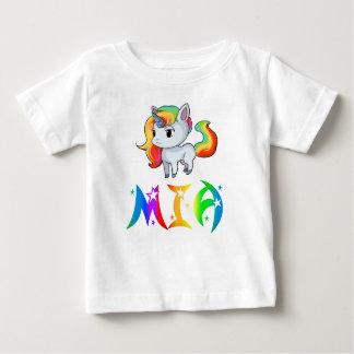 De T-shirt van het Baby van de Eenhoorn van Mia
