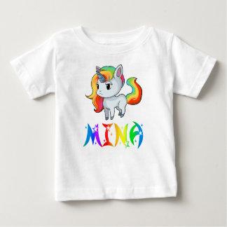 De T-shirt van het Baby van de Eenhoorn van Mina