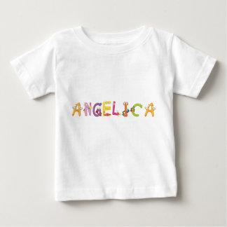 De T-shirt van het Baby van de engelwortel