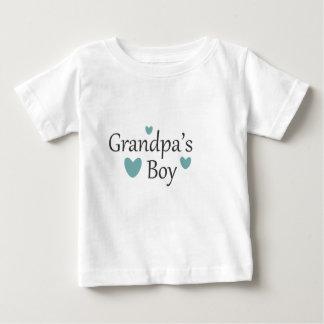 De T-shirt van het Baby van de Jongen van de opa