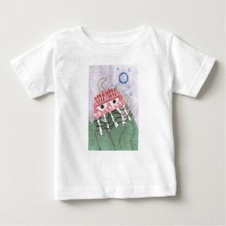 De T-shirt van het Baby van de Kam van kwallen