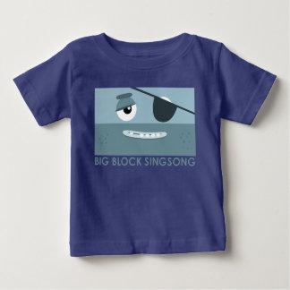 De T-shirt van het Baby van de Piraat BBSS