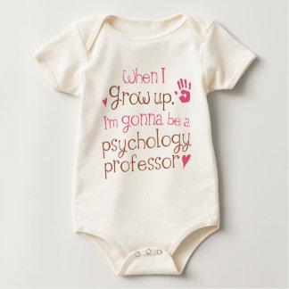 De T-shirt van het Baby van de Professor van de
