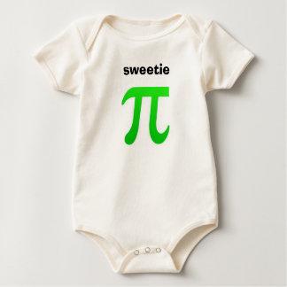 De T-shirt van het Baby van de schat Pi