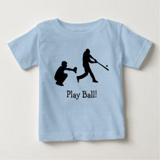 De T-shirt van het Baby van de Sporten van de
