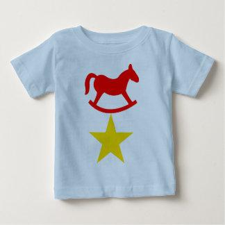 De T-shirt van het Baby van de Ster van Little