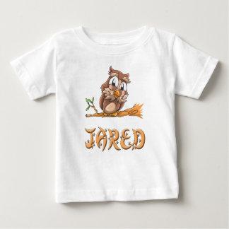 De T-shirt van het Baby van de Uil van Jared