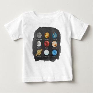 De T-shirt van het Baby van de Waterverf van het
