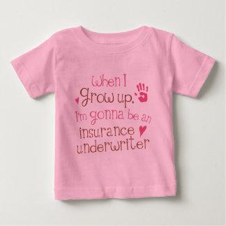 De T-shirt van het Baby van het Baby van de Borg
