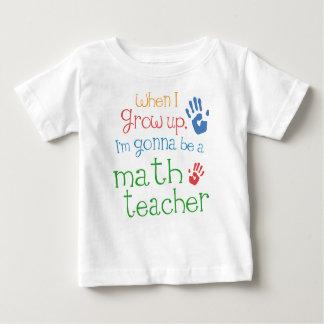 De T-shirt van het Baby van het Baby van de Leraar