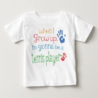 De T-shirt van het Baby van het Baby van de Speler