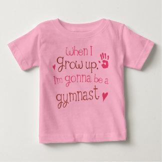 De T-shirt van het Baby van het Baby van de turner