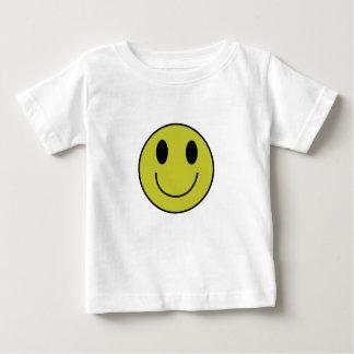 De T-shirt van het Baby van het Gezicht van Smiley