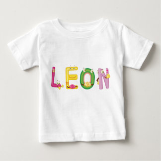 De T-shirt van het Baby van Leon