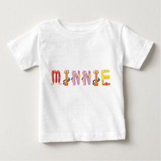 De T-shirt van het Baby van Minnie