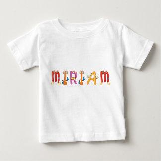 De T-shirt van het Baby van Miriam