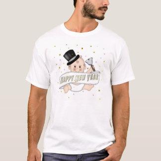 De T-shirt van het Baby van nieuwjaren