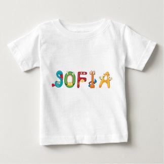 De T-shirt van het Baby van Sofia