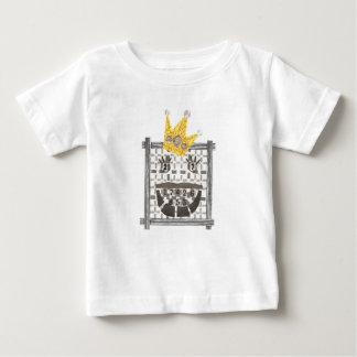 De T-shirt van het Baby van Sudoku van de koning