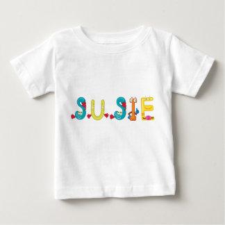 De T-shirt van het Baby van Susie
