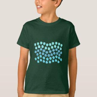 De T-shirt van het blauwe Kind van Golven