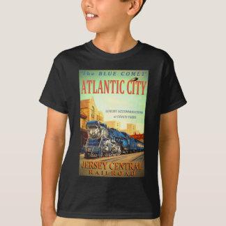 De t-shirt van het Blauwe van de Komeet Kind van