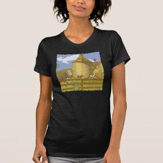 De T-shirt van het boerderij