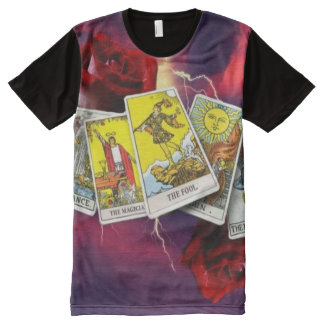 De t-shirt van het de kaartpaneel van het tarot