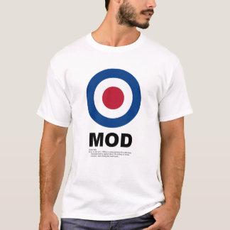 De T-shirt van het Doel van mod.