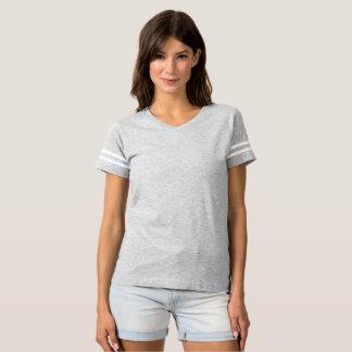 De T-shirt van het Football van vrouwen