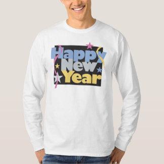 De T-shirt van het gelukkige Nieuwjaar van de