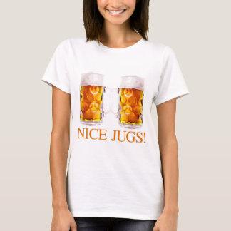 De T-shirt van het Glas van het Bier van de