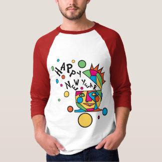 De T-shirt van het Grappige Nieuwjaar van de