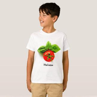 De T-shirt van het Italiaanse Kind van de Erfenis