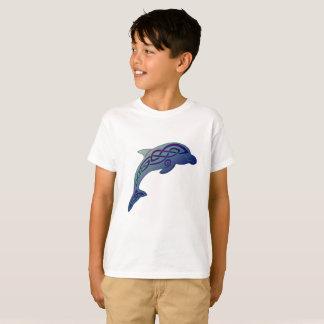 De T-shirt van het Keltische Kind van de Dolfijn