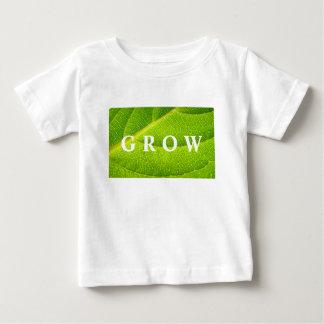 De T-shirt van het kind; GROEI