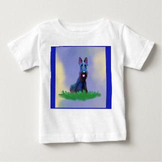 De T-shirt van het Kind van de Hond van Scottie