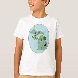 De T-shirt van het Kind van Michigan
