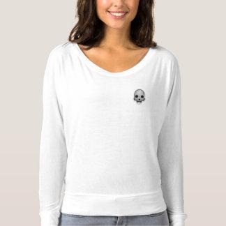 De T-shirt van het lang-Sleeve van Emoji van de