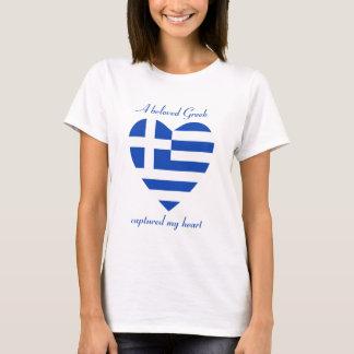 De T-shirt van het Liefje van de Vlag van
