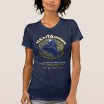 De T-shirt van het Logo van CenTAcruzers Donkere 1
