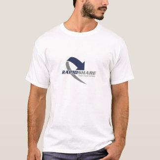 De T-shirt van het Logo van Rapidshare