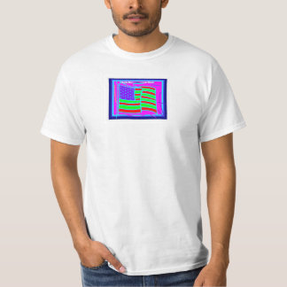 De T-shirt van het mannen, Afrikaanse Amerikaan