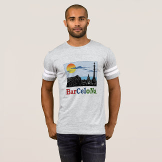 De T-shirt van het Mannen van Barcelona