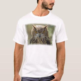 De T-shirt van het Mannen van de Foto van de uil