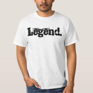 """De T-shirt van het Mannen van de """"legende"""""""